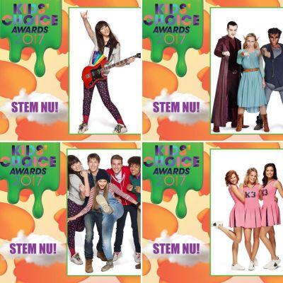 De nominaties voor de Nickelodeon Kids' Choice Awards zijn bekend!