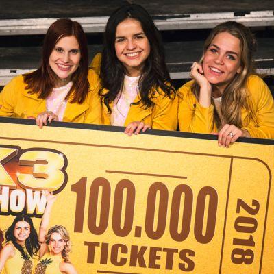 Al 100.000 verkochte tickets voor K3-show in Nederland en Vlaanderen!