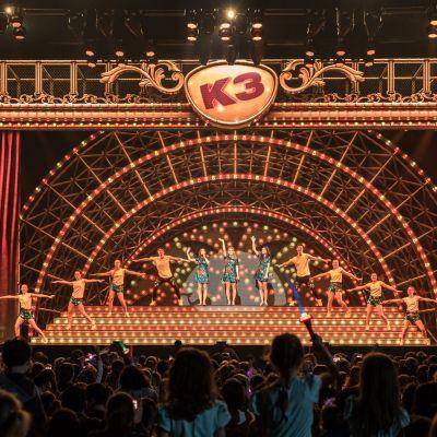 Première nieuwe K3 Show verloopt op wieltjes!
