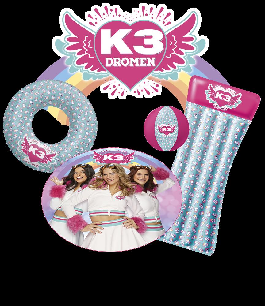 Laat de zon maar schijnen met deze K3 zomer producten!