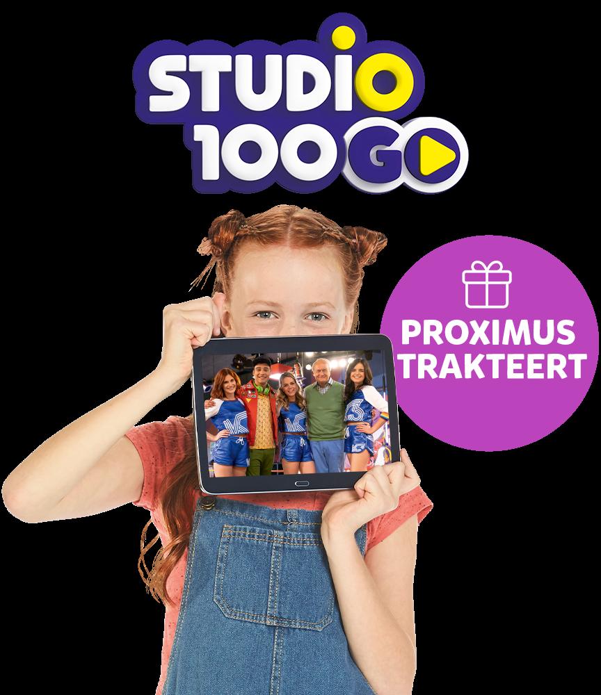 Proximus trakteert! K3 Rollerdisco seizoen 1, gratis in de Studio 100 GO app!