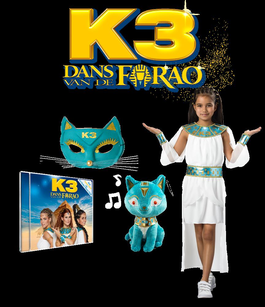 Ontdek alle producten van de nieuwe K3 film!