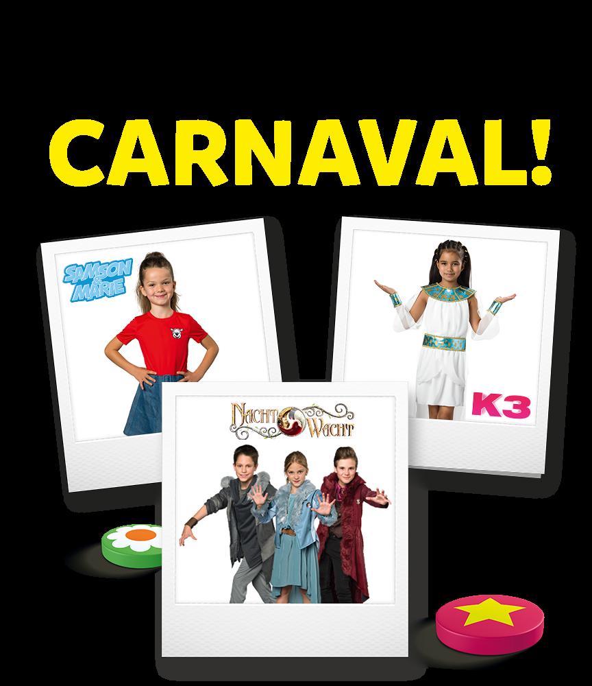 Tijd voor carnaval!