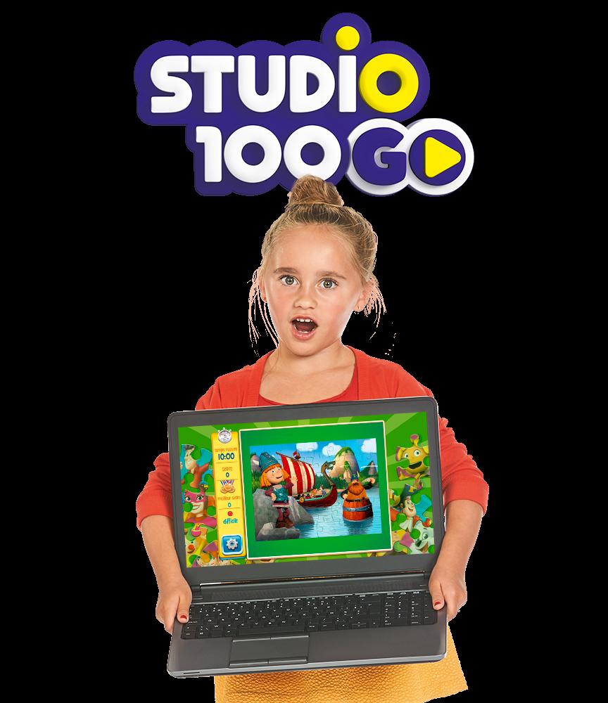 Het leukste puzzelspel dat vind je in de gratis Studio 100 GO app