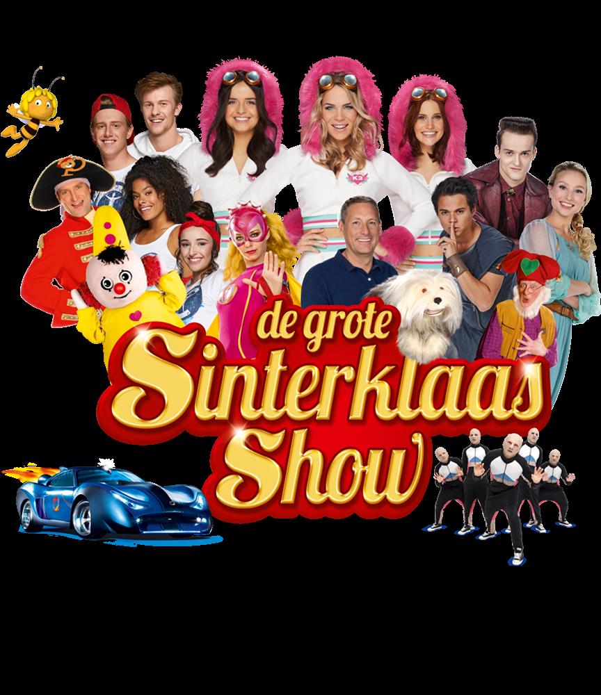 Boek tickets voor de Grote Sinterklaasshow!