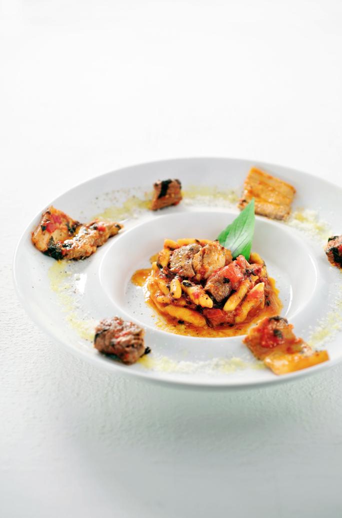 Cavatelli met ragù van rundsvlees en pancetta
