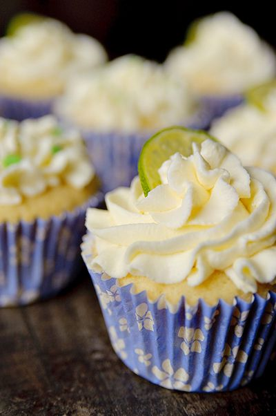 Cupcakes met limoen & ricotta