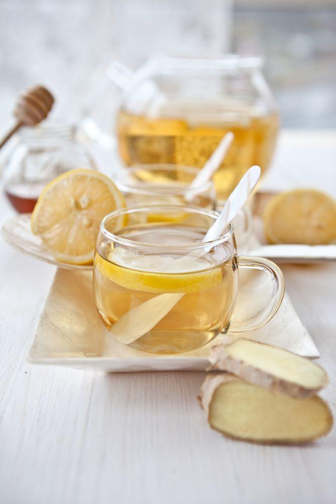 gemberwortel thee