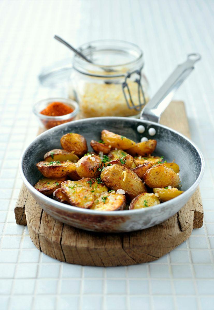 Aardappeltjes met piment d'espelette