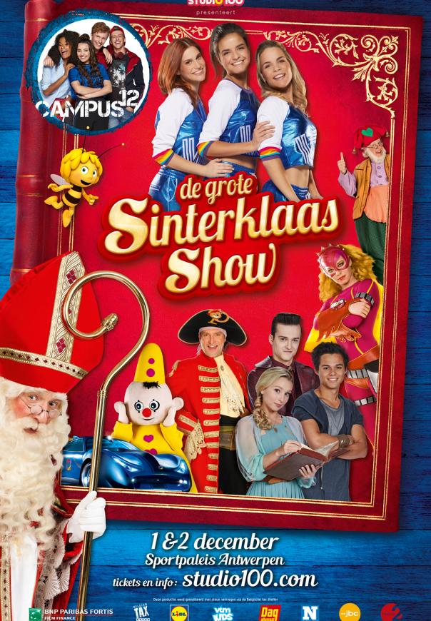 De Grote Sinterklaasshow 2018