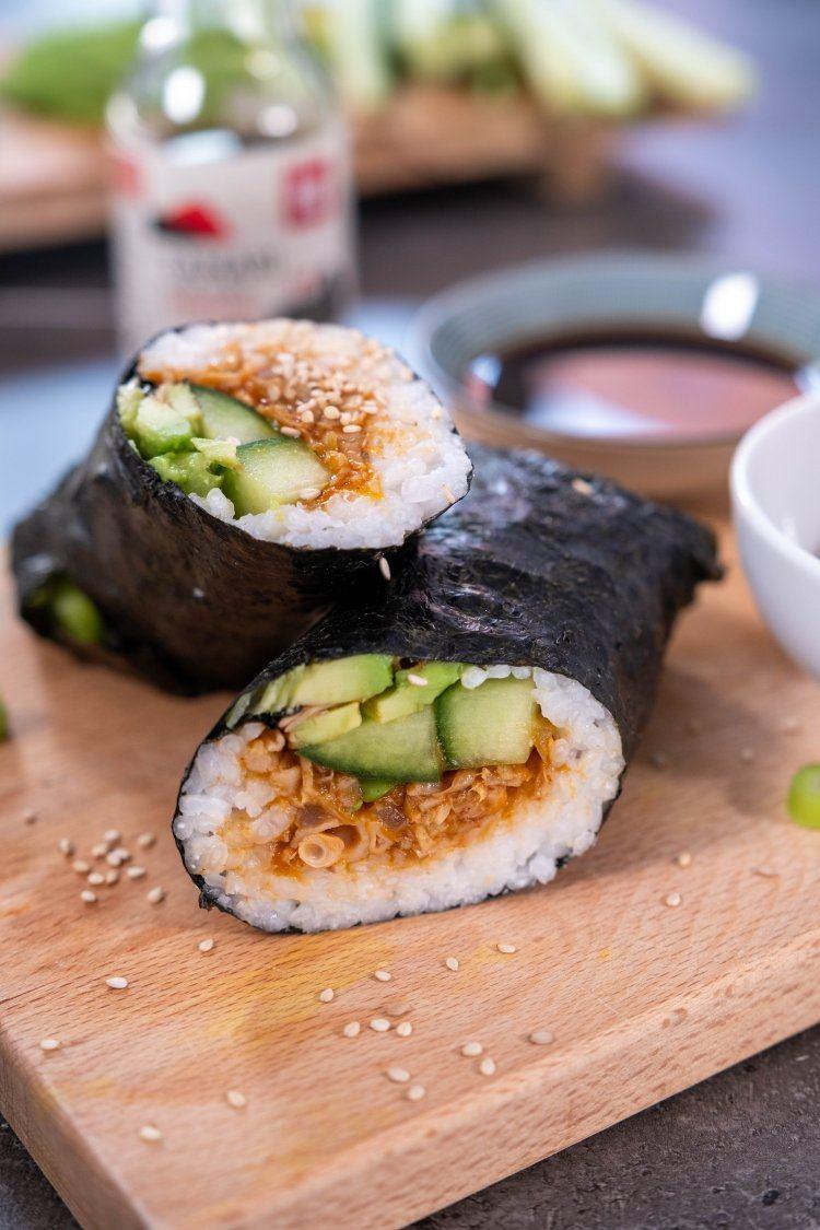 Vegan sushi wrap