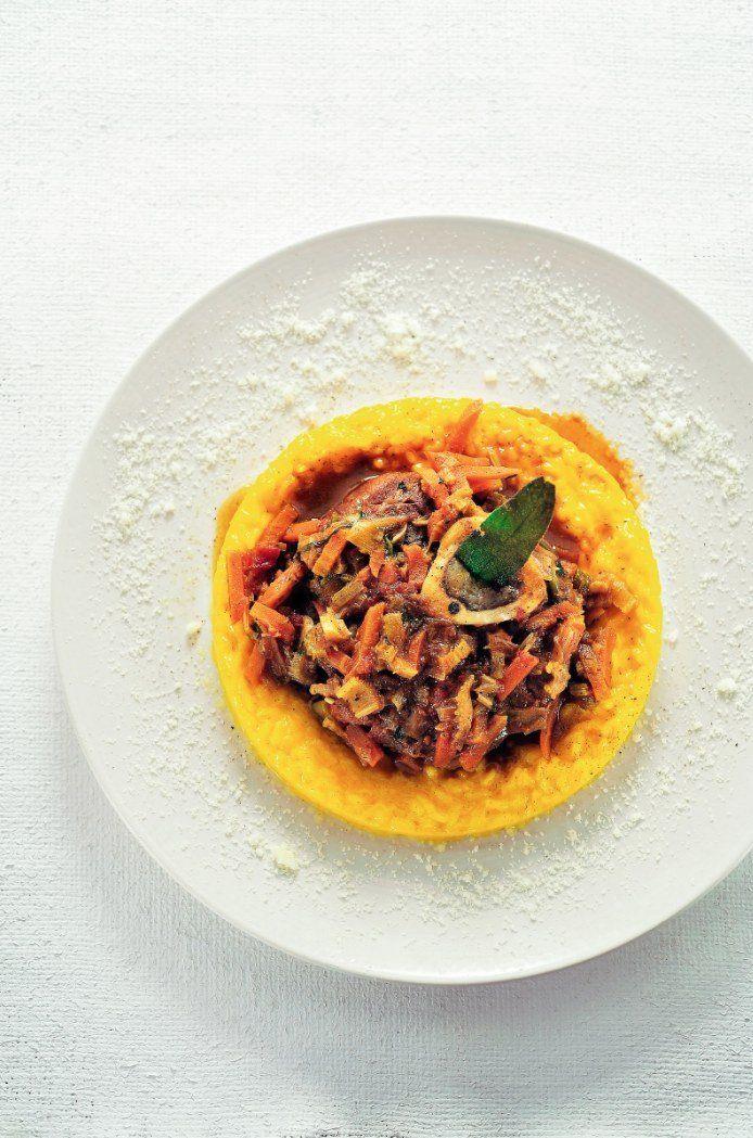 Ossobuco met risotto