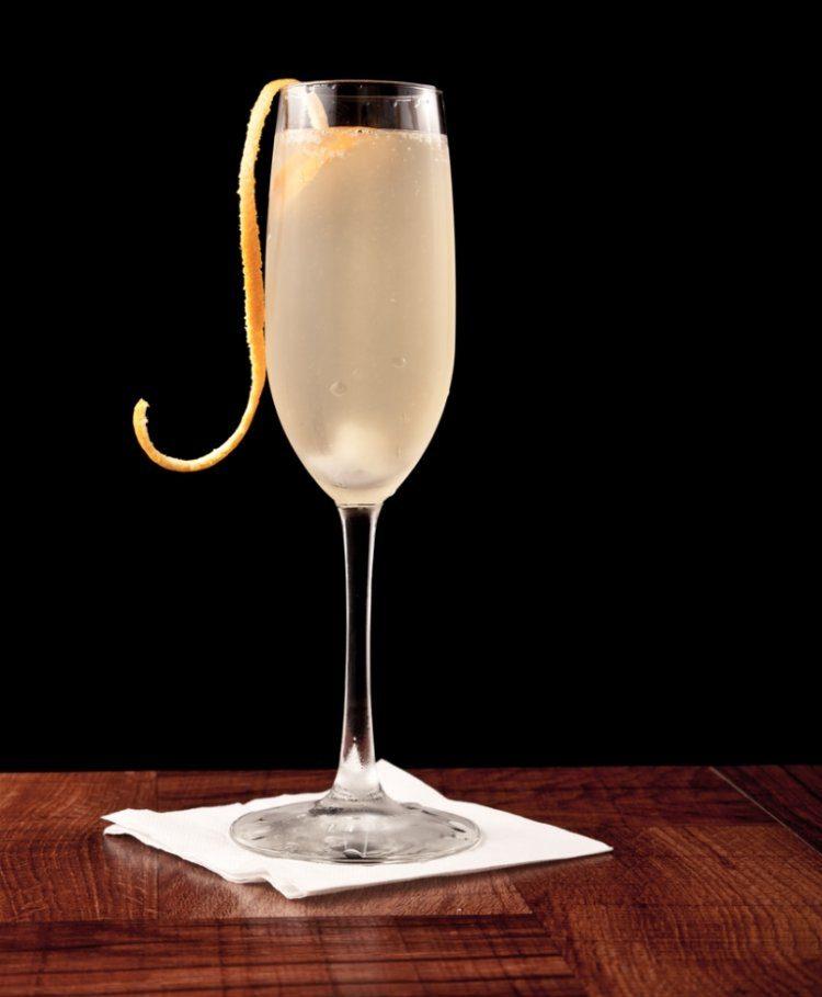 The Normandy / een sprankelende champagnecocktail