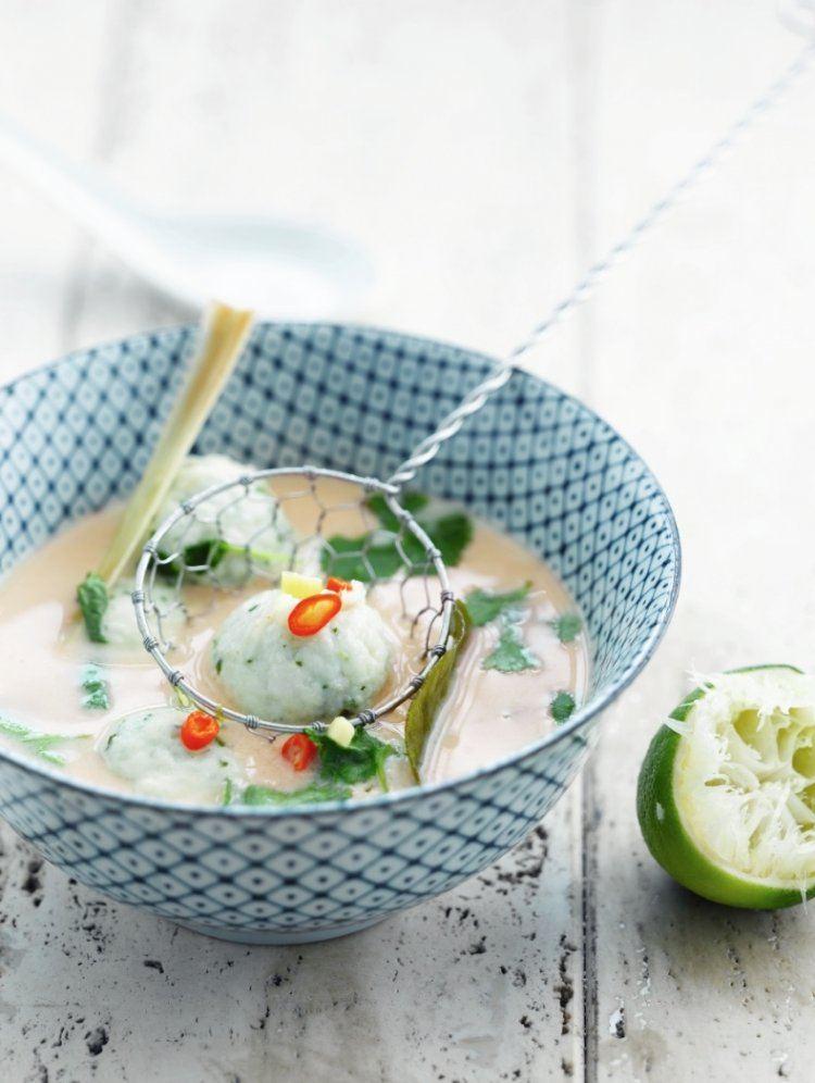 Thais soepje met visballetjes