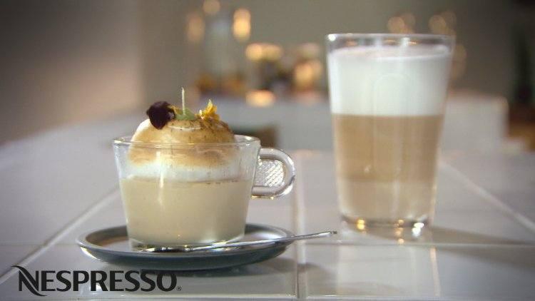 Koffiemousse met meringue Italienne