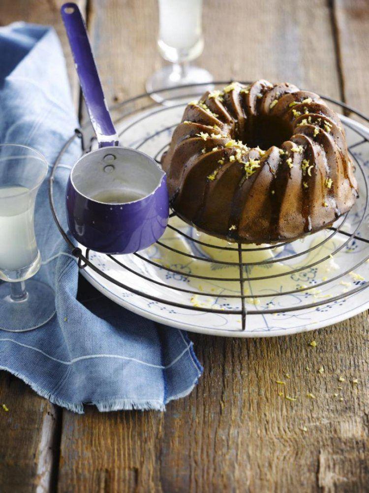 Chocoladecake met limoncello