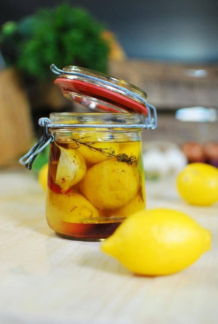 Opgelegde citroenen