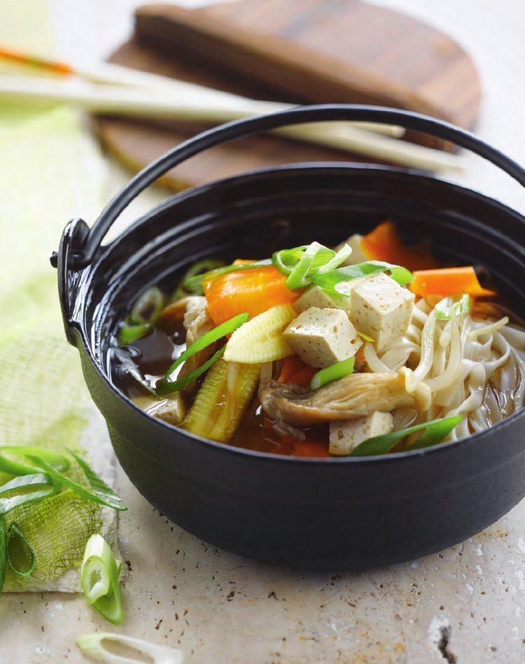 Misosoep met tofu
