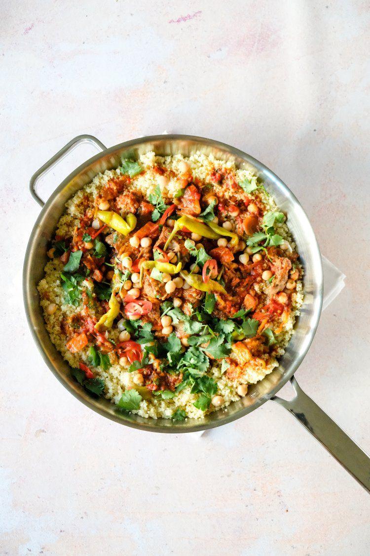 Lamsstoverij met couscous