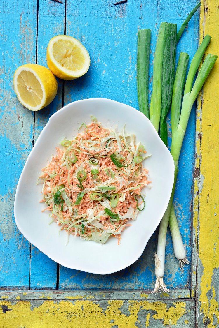 BBQ salades: coleslaw