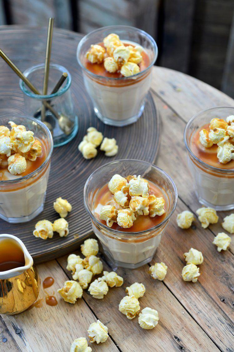 Mousse van gezouten karamel