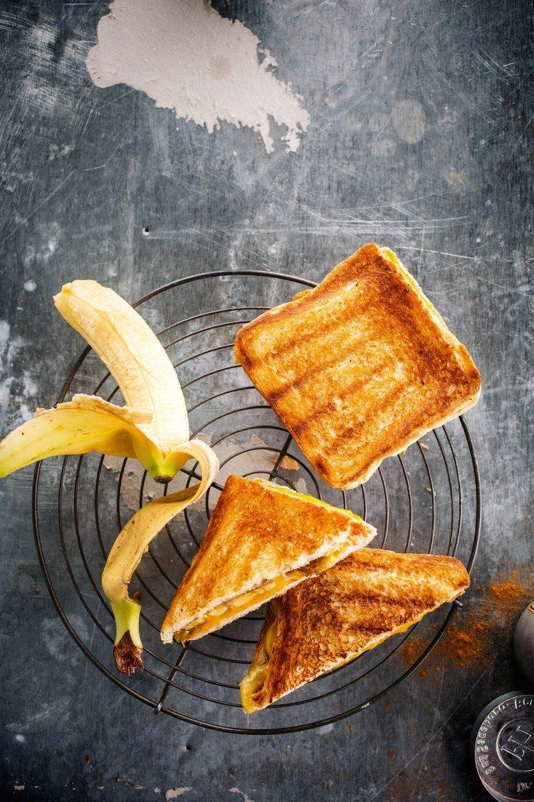 Croque banaan