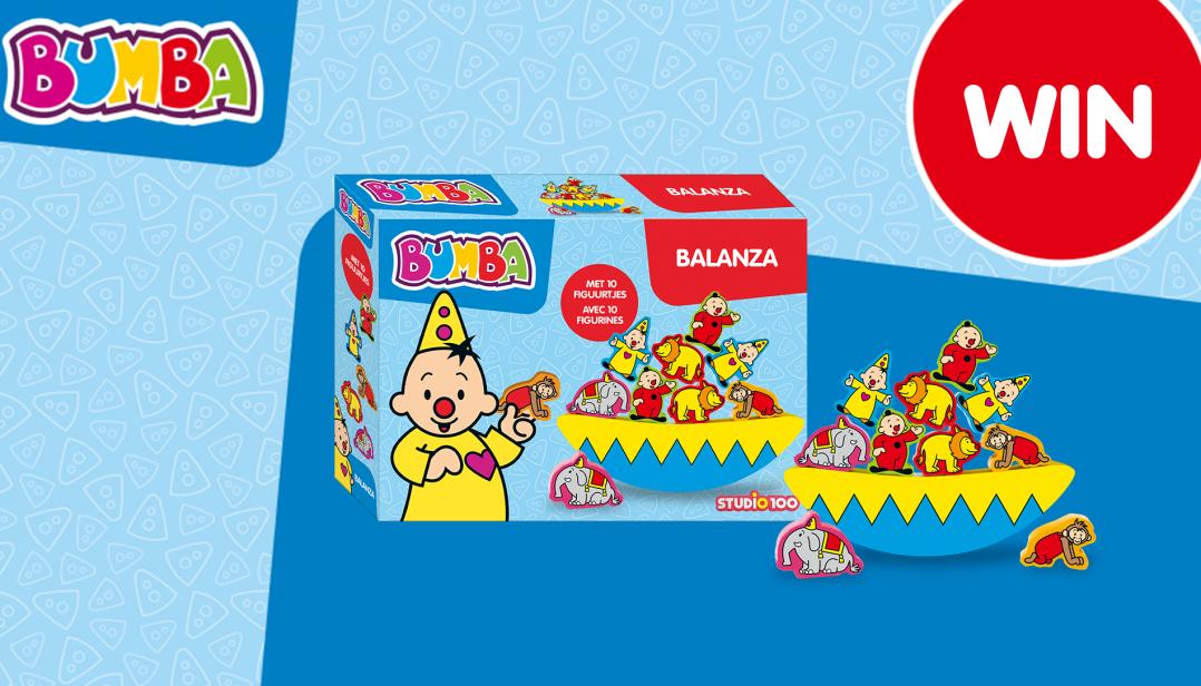 Win het Bumba Balanza spel