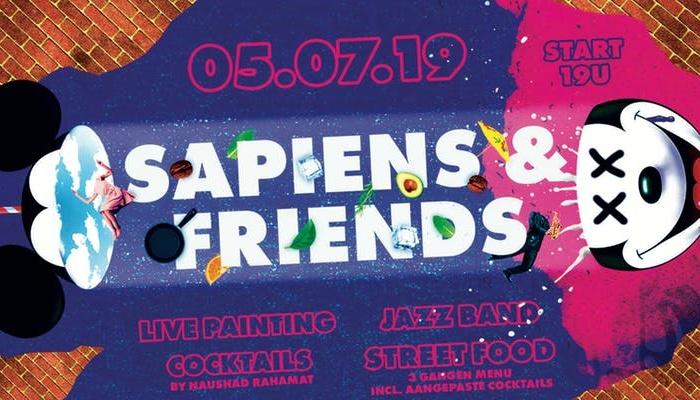 Win een duoticket voor het Sapiens and Friends event
