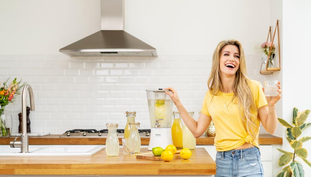 Win een DOMO My Lemonade toestel