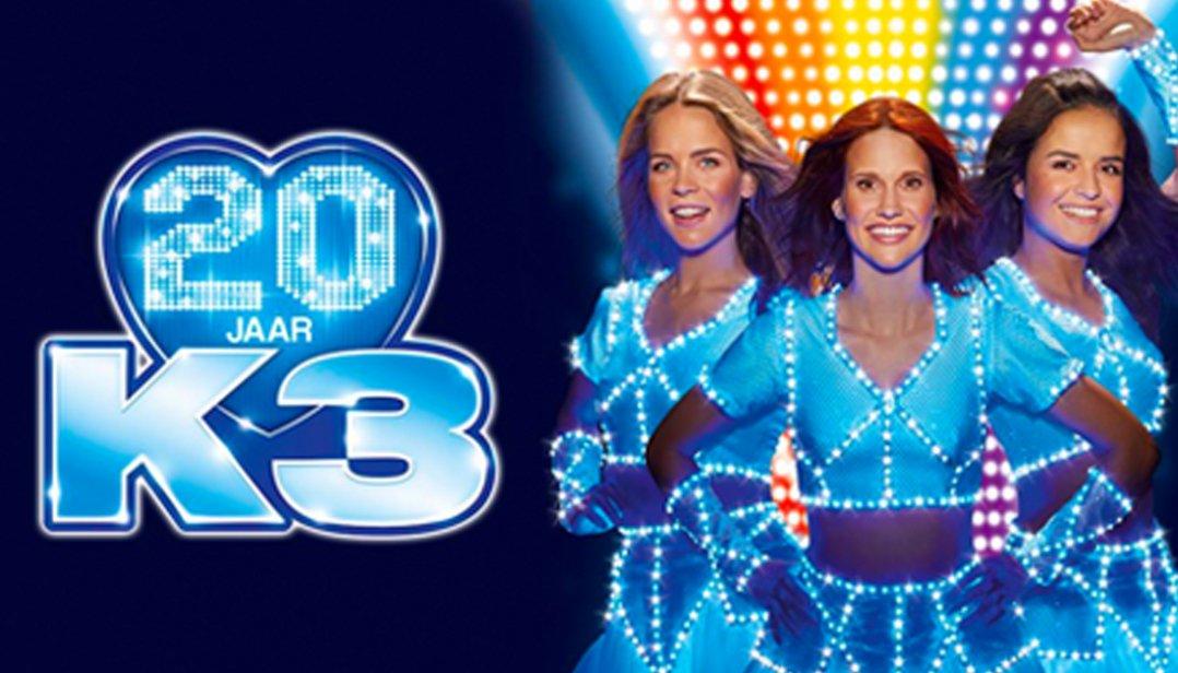 Win tickets voor de première van de 20 jaar K3 Show in Den Haag!