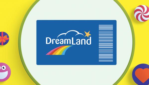 Parfait panier à cadeaux rêvés : Un chèque-cadeau Dreamland d'une valeur de 25€