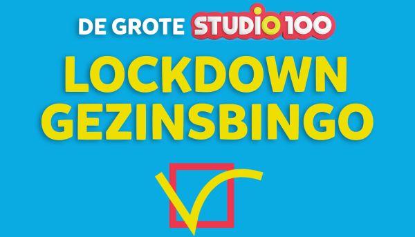 De Grote Studio 100 Lockdown Gezinsbingo!