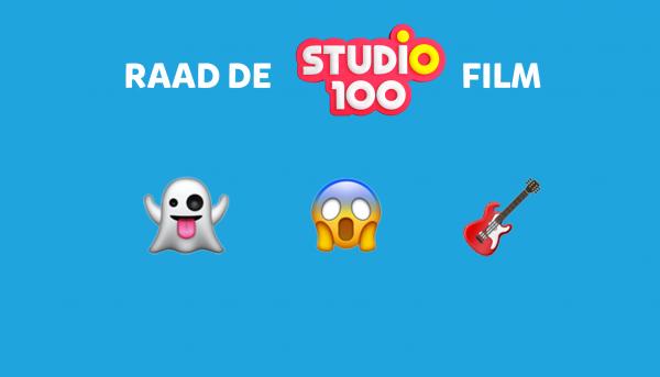 Raad de Studio 100 film of show aan de hand van emoji's