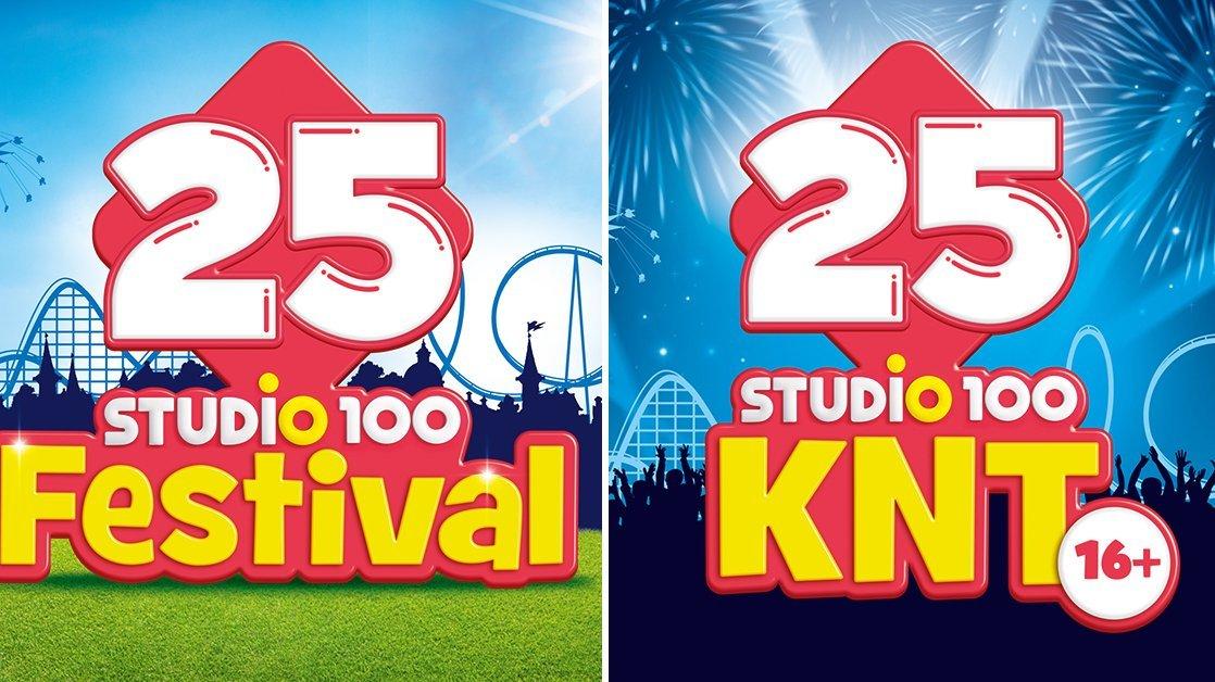 Komop11 septembermee 25 jaar Studio 100 vieren!