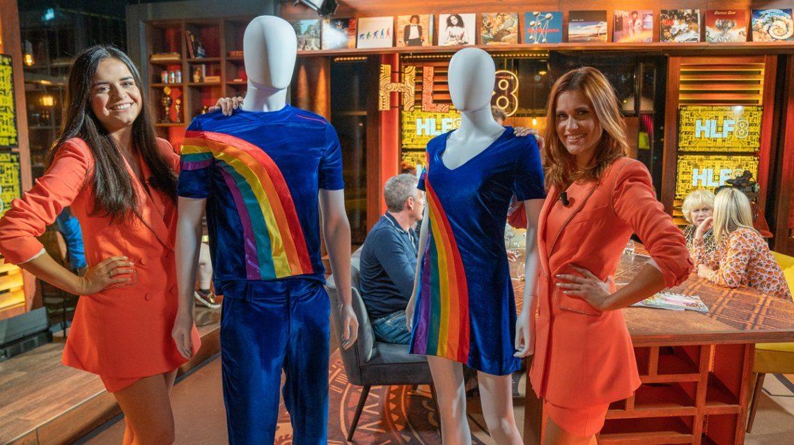 Splinternieuwe versie van de iconische regenboog-outfit van K3 onthuld!