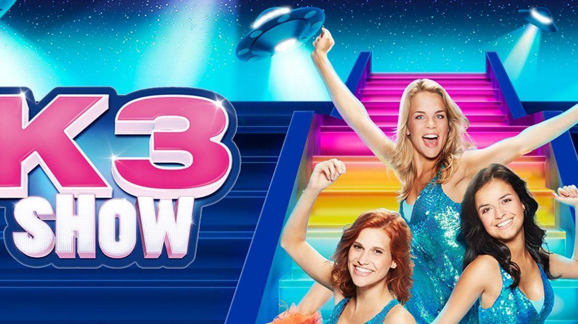 Al 100.000 bezoekers voor de nieuwe K3-show!