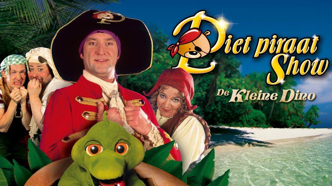 Piet Piraat komt opnieuw naar het theater!
